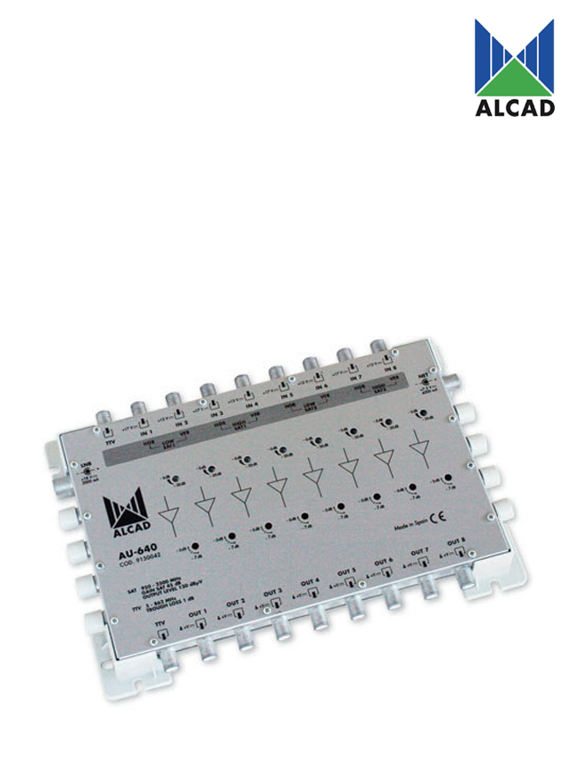 Alcad AU-640 Amplifier